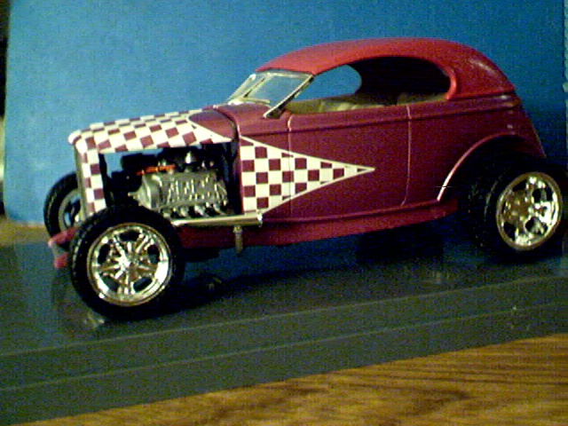 '32 Ford Coupe with removable top